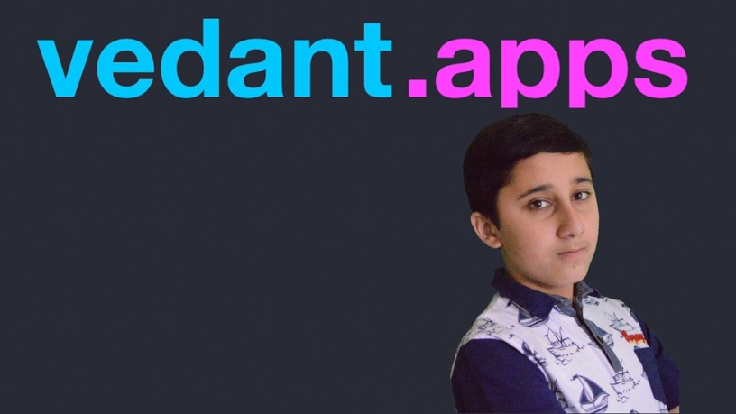 Vedant - Young prodigy